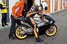 Il prototipo KTM per la Moto3 è già in pista
