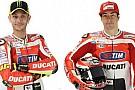 Ecco le nuove tute di Rossi e Hayden