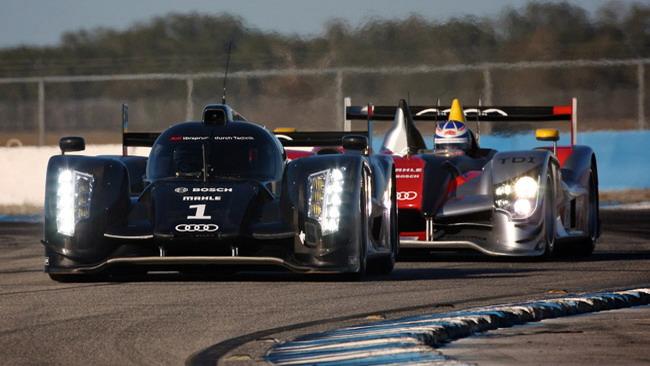 Test a Sebring per la nuova Audi R18
