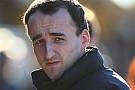 Domani Kubica verrà trasferito in ortopedia