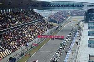 Formula 1 Ultime notizie Shanghai rinnova il suo contratto fino al 2017