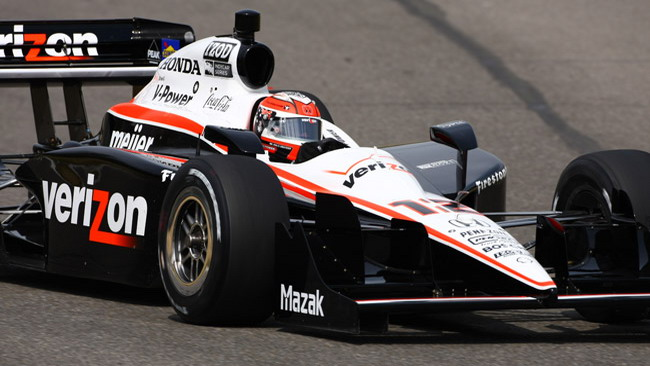 Will Power al top nei test del Barber
