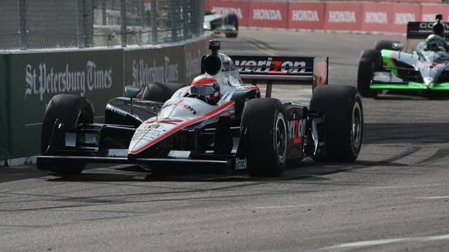 Will Power centra la pole a St. Petersburg