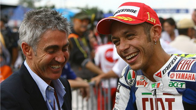 Doohan vede Rossi nella fase calante della carriera