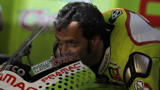 Capirossi arriva ad Estoril al 90% della condizione