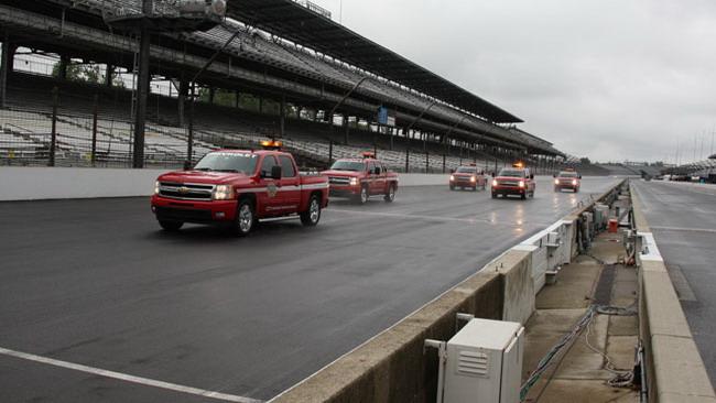 Indianapolis 500, Libere 5: piove ancora!