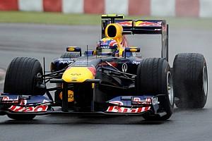 Formula 1 Ultime notizie Silverstone, Libere 1: Webber vola sul bagnato