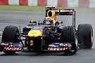 Silverstone, Libere 1: Webber vola sul bagnato