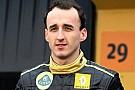 Kubica si vede sulla griglia del mondiale 2012