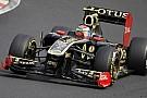 Lotus Renault con gli scarichi laterali fino a fine 2011