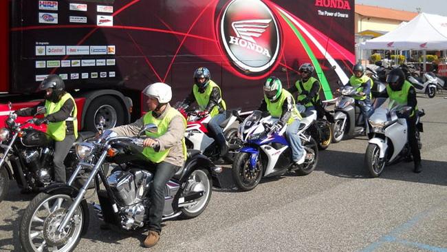 Tutte le iniziative Honda per il weenkend di Imola
