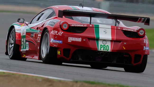 Fisichella-Bruni campioni Le Mans Series della Gt Pro