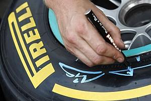 Formula 1 Ultime notizie Pirelli vuole cambiare i colori delle mescole nel 2012