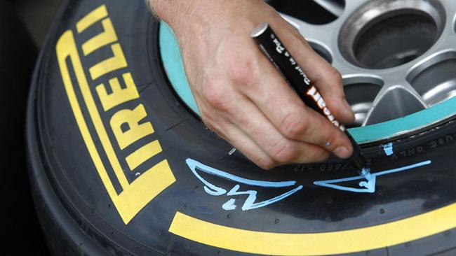 Pirelli vuole cambiare i colori delle mescole nel 2012