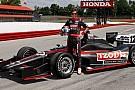 Primo test su un ovale per la Dallara Indycar 2012
