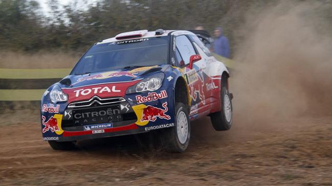 Spagna, PS1: Loeb parte subito a razzo