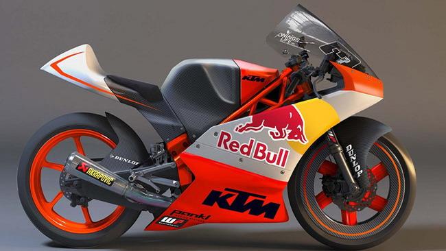 KTM ufficializza i suoi piani per la Moto3 2012