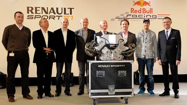 Vettel e la Red Bull ringraziano la Renault