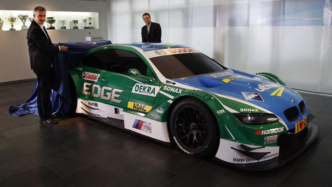 Livrea verde Castrol per una delle BMW M3 ufficiali
