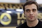 La Lotus sceglie d'Ambrosio come pilota di riserva