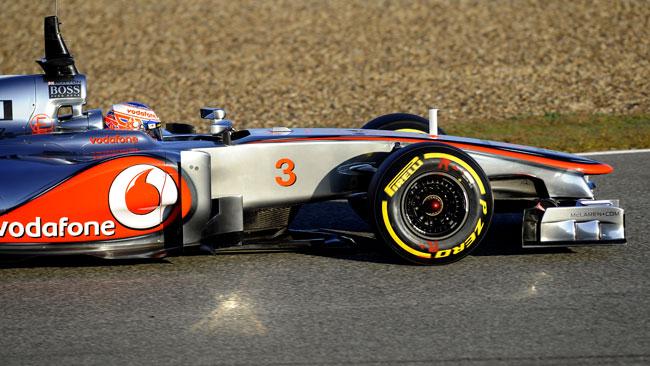 Button ottimista dopo la prima uscita con la MP4-27