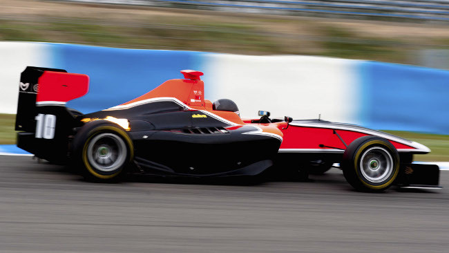 Tio Ellinas sale in GP3 con la Manor