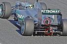 Mercedes: ecco il mini doppio diffusore della F1 W03!