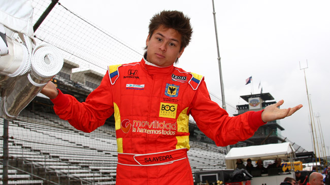 Saavedra nominato riserva della Andretti Autosport