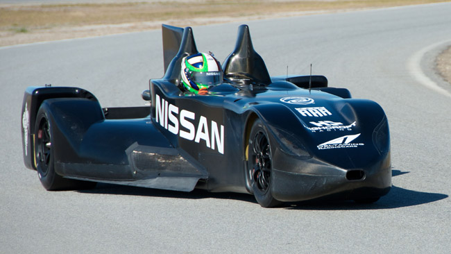 La Nissan alla 24 Ore di Le Mans con la DeltaWing