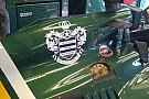 La Caterham con lo stemma dei QPR