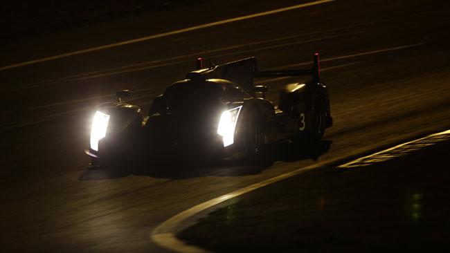 Romain Dumas riporta l'Audi #3 al quinto posto
