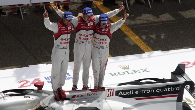 11esimo sigillo Audi, il primo di una ibrida a Le Mans