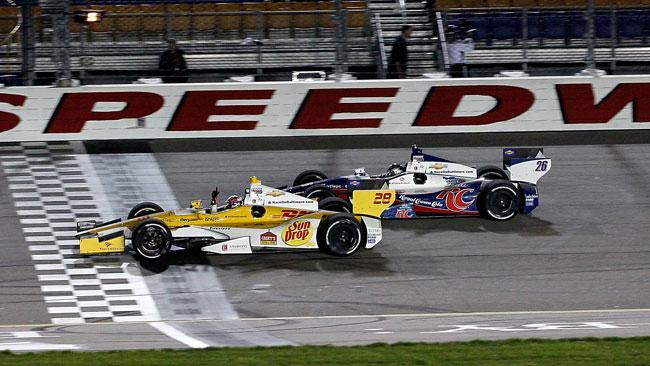 Ryan Hunter-Reay concede il bis all'Iowa Speedway