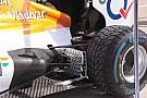 Force India indaga nella zona soffiante degli scarichi