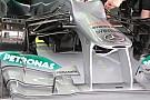 La Mercedes boccia i turning vanes, non l'ala davanti