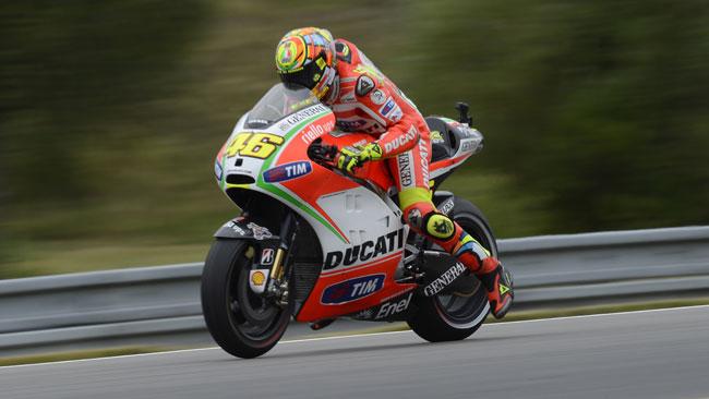 Miglior qualifica stagionale per Valentino Rossi