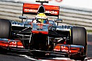 La McLaren a Spa senza il Super DRS