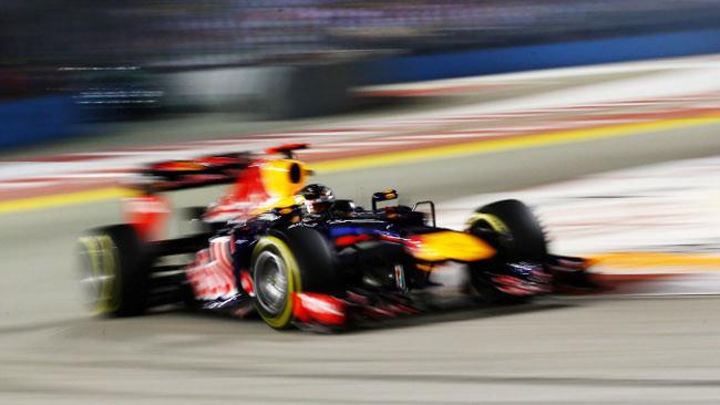 Sebastian Vettel è il leone di Singapore