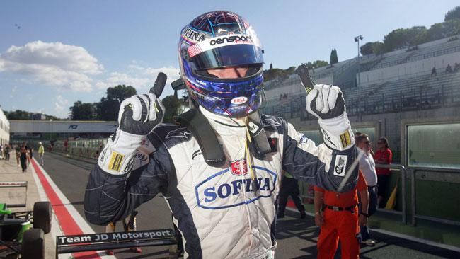 Nicholas Latifi prende confidenza con Monza