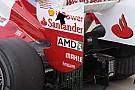 Tre soluzioni di ala posteriore per la Ferrari
