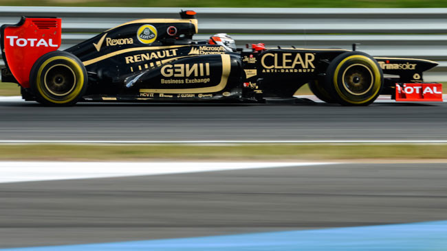 Raikkonen promuove la Lotus con le novità