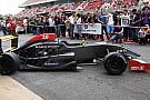 La nuova Formula Renault 2.0 in pista a Barcellona