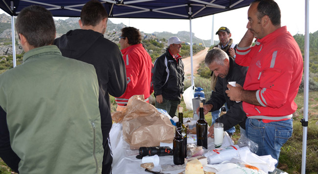 Rally d'Italia, sapori di Sardegna