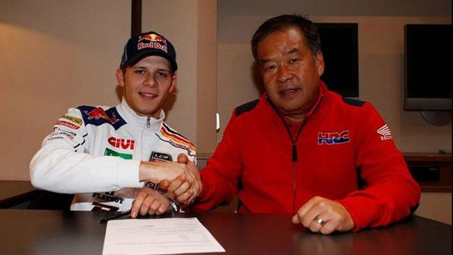 Bradl rinnova con Honda e team LCR fino al 2014