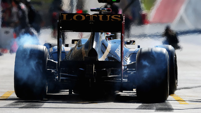 Cinque piloti in corsa per la seconda Lotus