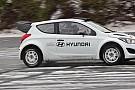 Primi test in Europa per la Hyundai i20 WRC