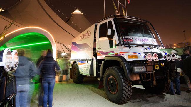 Pochi giorni al via della seconda Dakar di Alex Caffi