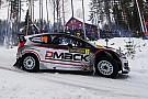 Ketomaa in Svezia con una Ford gommata DMACK