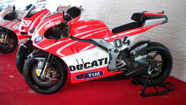 Ducati Desmosedici GP13: la scheda tecnica
