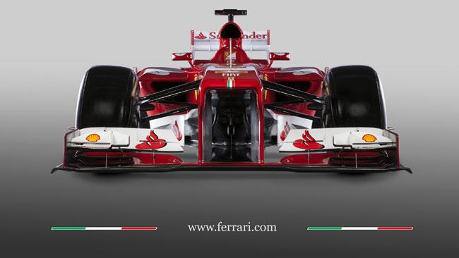 Ferrari F138: il cambio longitudinale resta in due parti
